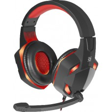 Defender Warhead G-370 black and red cable 2m Gaming headset