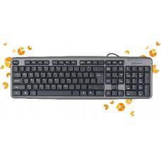 Defender Element HB-520 PS/2 RU grey full-sized Keyboard