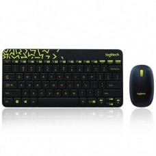 LOGITECH MK240  COMBO WIRELESS  GREY Keyboard & Mouse