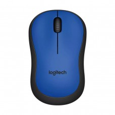 Logitech M221 Silent Wireless Mouse (Blue)