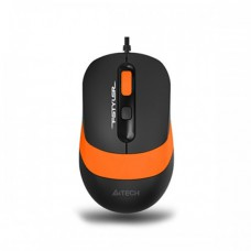 A4tech FM10 Fstyler Wired Optical Mouse Black-Orange