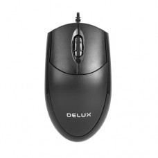 Delux M331BU Wired USB Optical Mouse